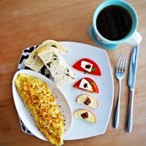 歐姆蛋捲 + A套餐 Omelette + Set A