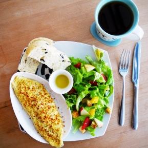 歐姆蛋捲 + B套餐 Omelette + Set B
